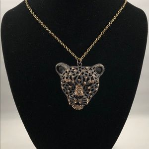 Jaguar Pendant Necklace